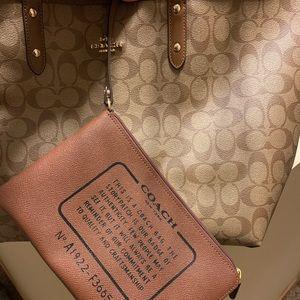 Coach reversible purse